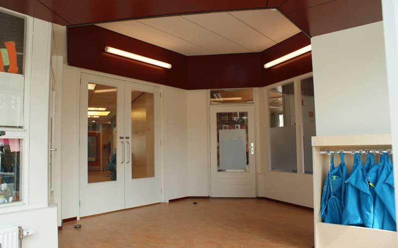 Uitbreiding Basisschool Lansingerland, de nieuwe ingang voor de kleutergroepen